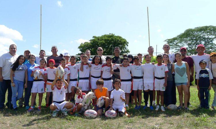 Primer Festival Regional de Rugby Infantil Feverugby