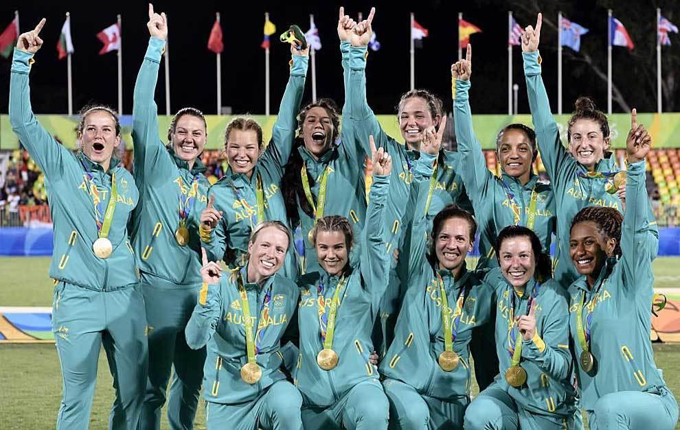 Juegos Olímpicos Australia medalla de oro Río 2016 Rugby sevens femenino