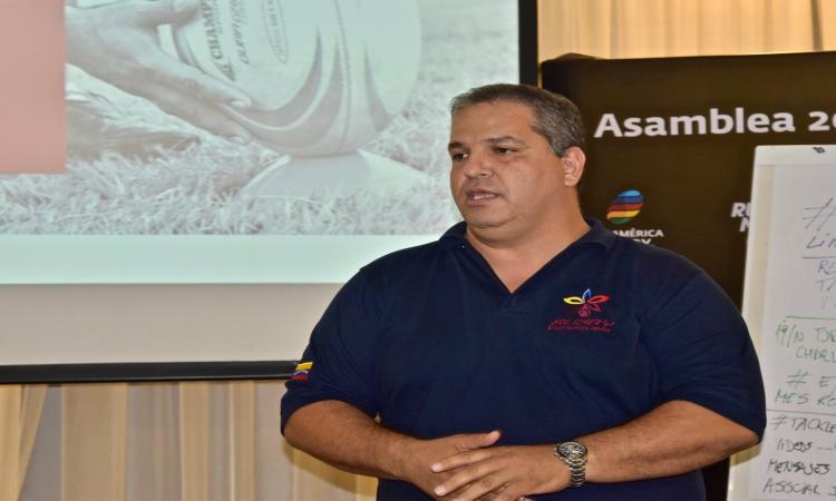 El presidente de FEVERUGBY Erickson Bermúdez, fue anunciado por el Comite Olímpico Venezolano como Jefe de Misión para los Juegos Suramericanos de Playa de 2019 que se realizará el mes de marzo.