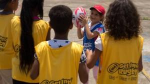 Rugby llega a escuelas de Santa Teresa del Tuy
