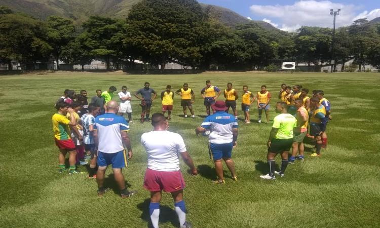 Selección Nacional Rugby Venezuela, Hacienda Santa Teresa