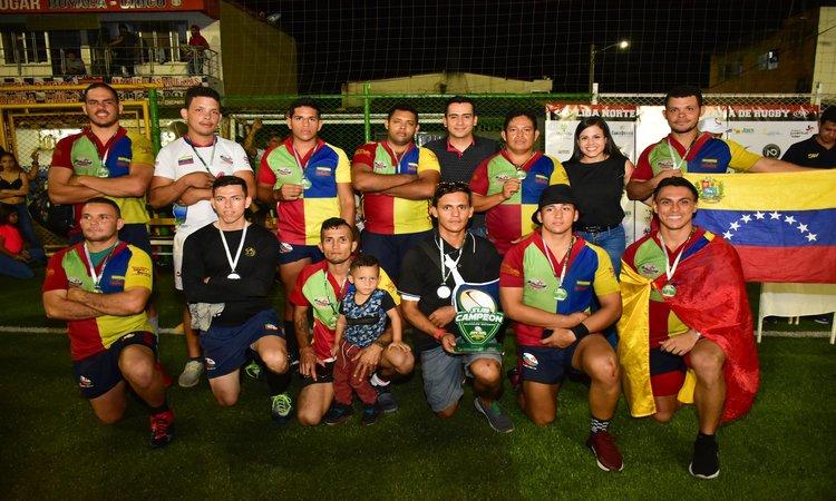 Pucará Vigía RC subcampeón del torneo seven en Colombia